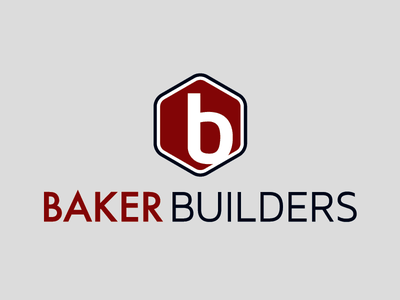 Logo for Baker Builders brand logo