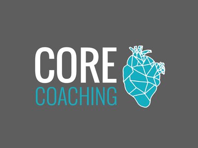 Core Coaching logo logo training athlete branding