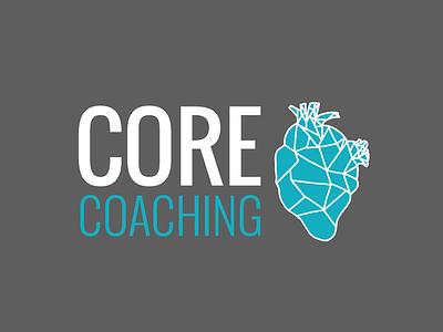 Core Coaching logo logo training athlete branding