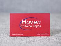 Hovencollision card back
