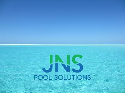 Jns Pool Solutions Logo logo design logo branding