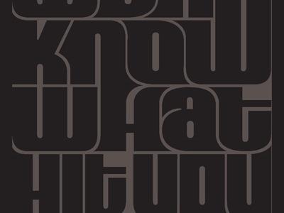 Beer Label hand lettering metal rebound brand design lettering promotion typography music product beer filmore black label band