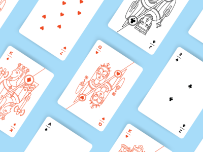 Angular Playing Cards