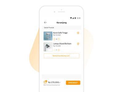 Mobile E-Commerce - Basket bag basket mobile ecommerce payment checkout cart shoping