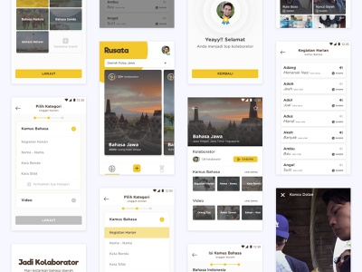 Rusata Indonesian Language Learning Platform language learning content study learning android mobile