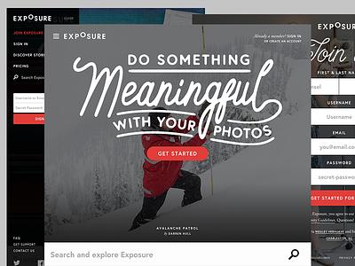 Exposure Design Rampage