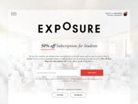 Exposure Student Discounts!