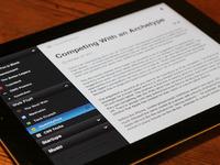 Reader app idea ub