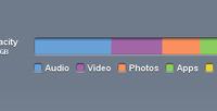 CSS3 iTunes 10 Storage Bar
