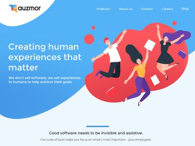Auzmor Landing Page