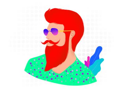 Men in Fashion - Illustration