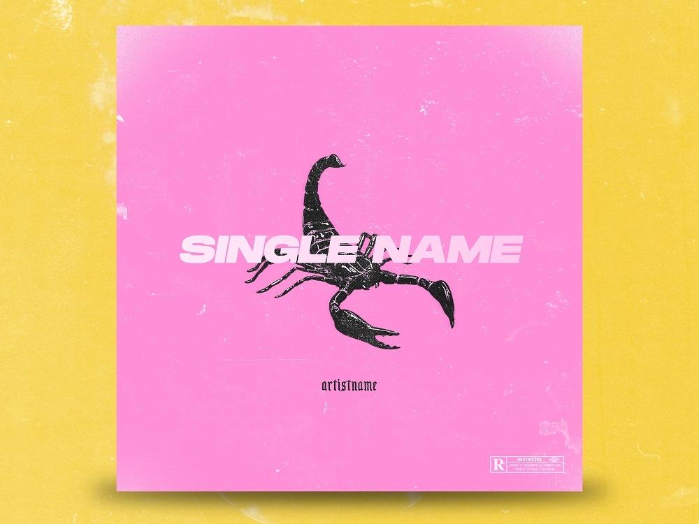 Scorpio - Premade album cover