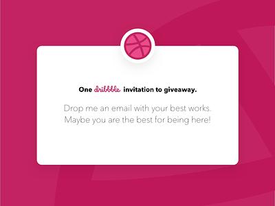 Dribbble Invitation invite dribbble invitation