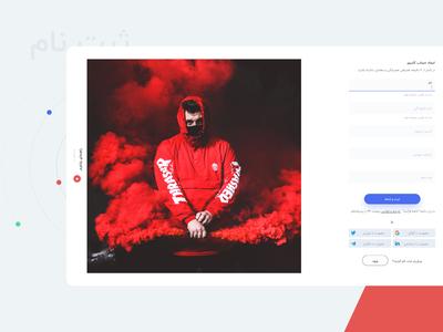 Sign Up   Payment24 flat minimal sketch ux ui login sign up