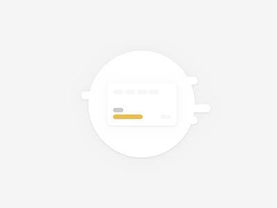 Card Icon | KV branding illustration minimal icon design ux ui