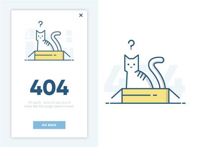 Daily UI Challenge #01 -  404 error page
