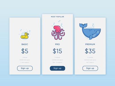 #06 - Daily UI - Pricing