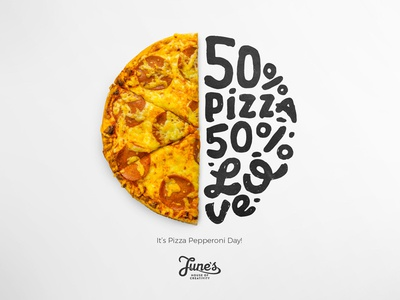 Pizza Day Lettering
