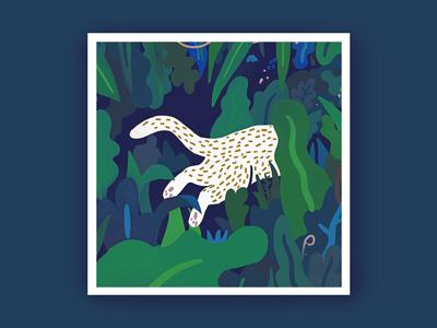 Illustration Jungle beast