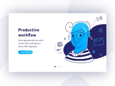 Illustration Productive workflow