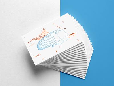 Business cards - auwää studio business cards blue red minimal minimalistic geometric design flat design logo illustration graphicdesign business card businesscard