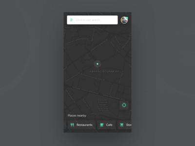 Daily UI challenge #20 — Location Tracker