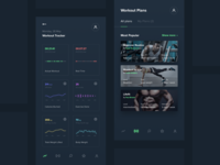 Daily UI challenge #41 — Workout Tracker