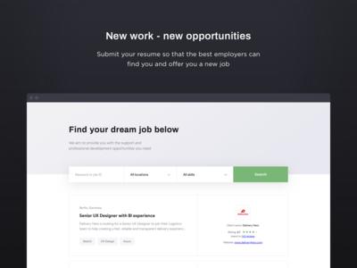 Daily UI challenge #50 — Job Listing