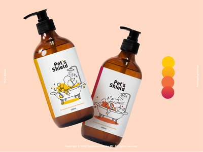 Pet's Shield Packaging Design