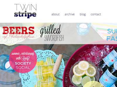 Twin Stripe Summer Issue twin stripe online magazine