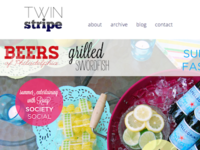 Twin Stripe Summer Issue