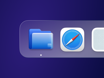 Folder App Icon icon branding mail flat website header folder illustration application ui logo graphic design 3d