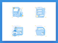 Icon Illustration for Employe Onboarding