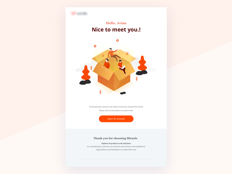 Welcome Email website onboarding menthor illustration iconset icon header developer advantages technology isometric email