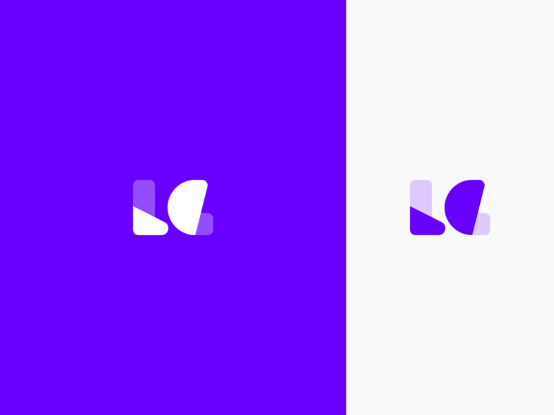 Lena G. – Logo figma sketch flat design graphic design brand g l mark identity logo branding