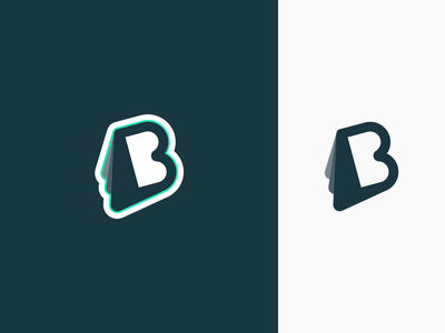 Logo idea – B typography b logo illustration graphic design brand identity mark brand identity branding