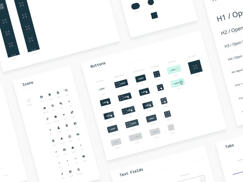 Closelink Design Guide button web mobile icons library design guide guide sketch figma design system design ui ux branding brand
