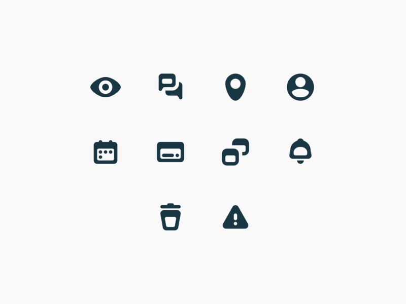 Closelink – Product Icons product design product flat design web mobile ux ui illustration icon set icons brand identity brand