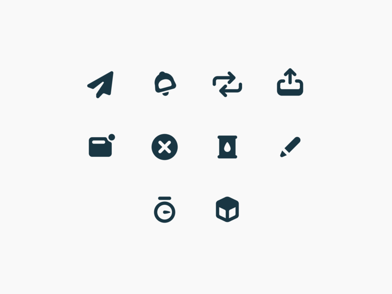 Closelink – Product Icons #2 interface identity product design icon set mobile product branding figma ux ui web icon flat brand identity brand