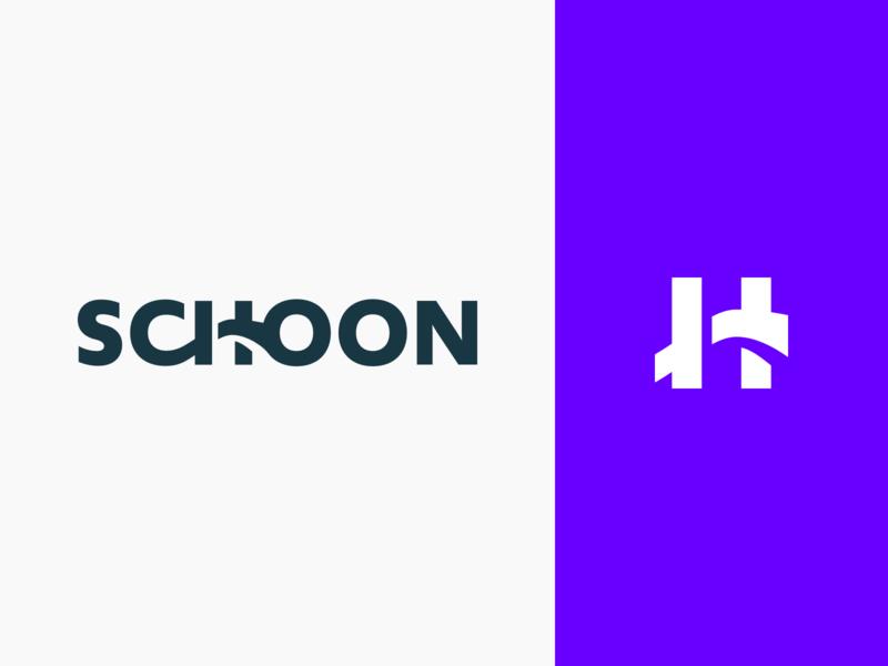 Schoon – Logo engineer icon sketch graphic design interface flat typography brand brand identity identity branding vector figma design logo