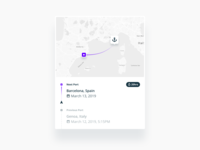 Vessel Tracking Widget