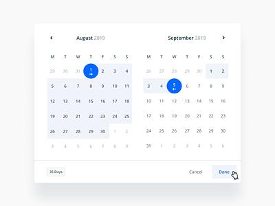 Reporting Date Picker / Filter filter selection date picker calendar date datepicker sketch product design web figma design flat ux ui