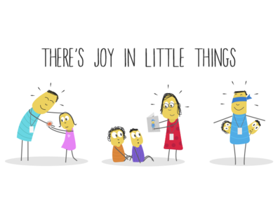 There is Joy in Little Things