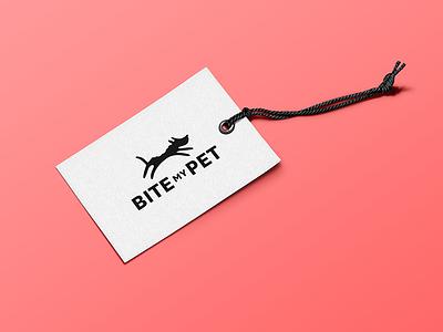 BITE my PET identity bite animal dog pet branding identity logo
