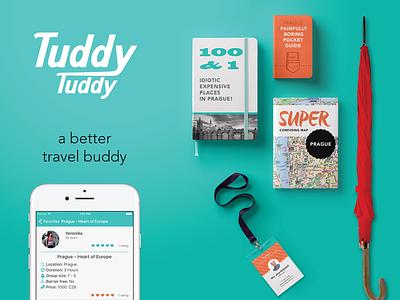 Tuddy Tuddy app campaign ironic map guide prague travel app