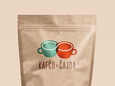 Coffee brand logo cup brand branding paper bag paperbag packaging tea cafe coffee