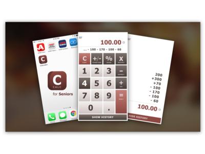 CALC for Seniors dailyui calculator 002