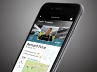 Copper Mountain Website ~ Mobile Profile Page