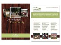 GreenValley Community Commitment information sheet