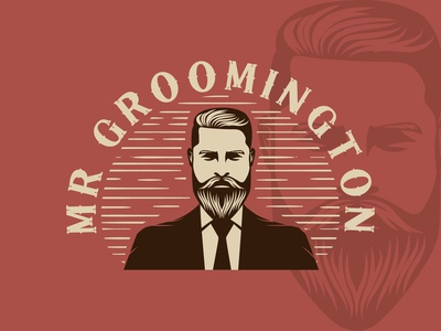Mr Groomington Logo Design